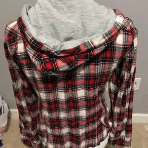 paper tee Tops - Plaid button up